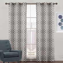 Lattice Jacquard Eyelet Curtain | Sold Out!