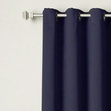 Blockout Eyelet Curtain Panel NAVY 120cm x 221cm | Sold Out