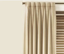 Thermal Pinch Pleat Modern Leaf Jacquard Curtain Panel