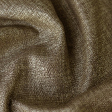 Denver: Copper Soft drape Two Coloured Linen Look Blockout Curtain Fabric