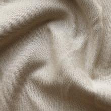 Denver: Bone Soft drape  Linen Look Blockout Curtain Fabric