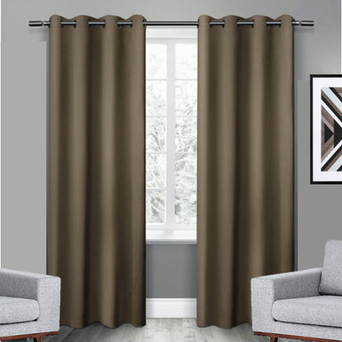 Extra long Eyelet Curtains | 250cm long Blockout Curtains | Great ...