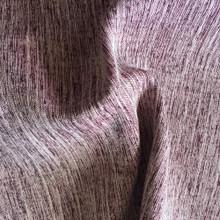 MONTANA: Claret Soft Drape Two Tone Linen Look Blockout Soft Drape Curtain Fabric   New