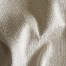 MONTANA: Linen Soft Drape Two Tone Linen Look Blockout Soft Drape Curtain Fabric