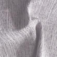 MONTANA: Grey Soft Drape Two Tone Linen Look Blockout Soft Drape Curtain Fabric   New