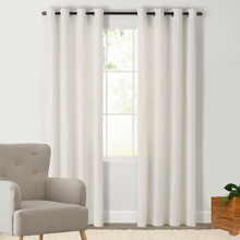 HOUSTON Blockout Eyelet Curtains ECRU | New!