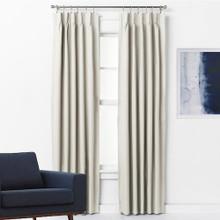 Pinch Pleat Curtains Blockout ARIZONA ECRU