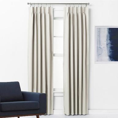 Pinch Pleat Curtains Blockout ARIZONA ECRU | 4 Sizes!