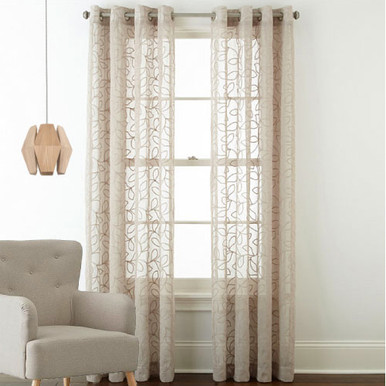 Sheer Curtains Gold Curtains Patterned Sheer Buy