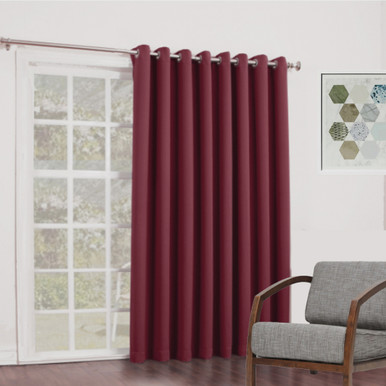 living vezo decorative curtain item burgundy from treatment curtains stripes sizes door room window multi panel in bedroom velvet home