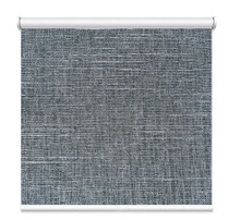 Milan Charcoal Coated Blockout Textured Roller Blind
