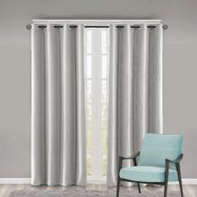Como Premium Blockout Eyelet Curtain Panel SILVER