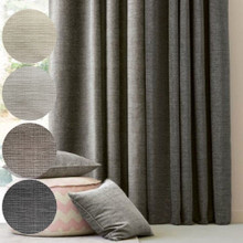 OLMO Premium Blockout Eyelet Curtain Panel CHARCOAL | New