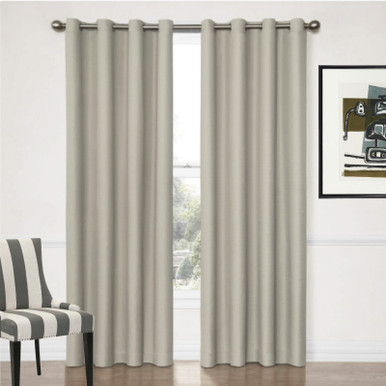 Grey Eyelet Curtains | Blockout Curtains | Great Deals On Quickfit Curtains