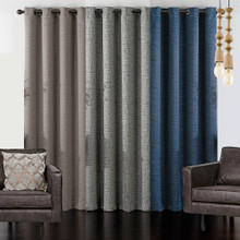 Utah Blockout Eyelet Curtain Panel