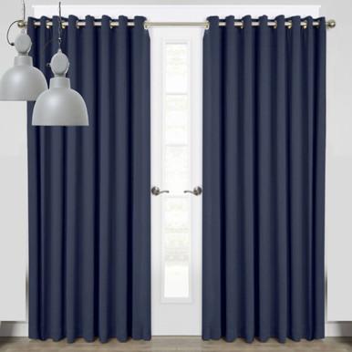Miami Thermal Room Darkening Curtain Panel   4 Sizes!