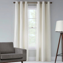 Tampa Blockout Eyelet Curtain Panel | Ecru