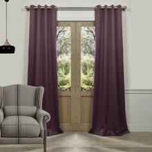 Tucson Blockout Eyelet Curtain Panel Grape