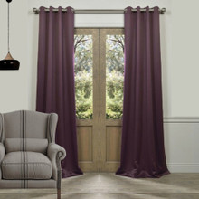 Tucson Blockout Eyelet Curtain Panel Grape | Sold Out