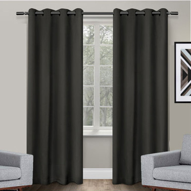 250cm drop Eyelet Curtains | Extra Long Blockout Curtains | Fire ...