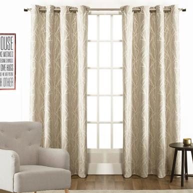 Alyssa Eyelet Decorator Cream Curtains