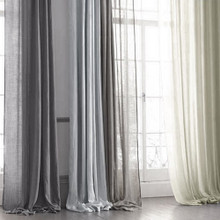 Haven Natural Sheer Curtain | Designer Pick