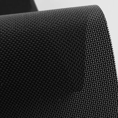 Micro Screen Roller Blind Black