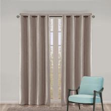 COMO Premium Blockout Eyelet Curtain Panel Mocha