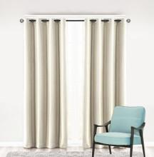 Como Blockout Premium Eyelet Curtain Panel ECRU