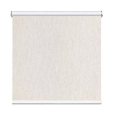 Antique White Houston Coated Blockout Textured Roller Blind