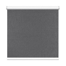 Grey Houston Coated Blockout Textured Roller Blind | Designer Pick