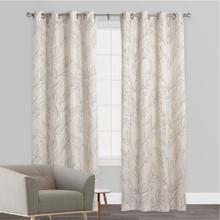 SAIGON Blockout Premium Curtain Panel COAL   New!