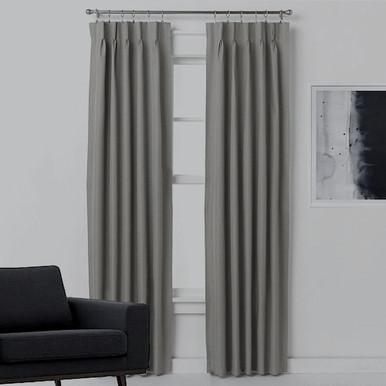 Blockout ARIZONA CHARCOAL Fabric Swatch  |  4 Sizes!