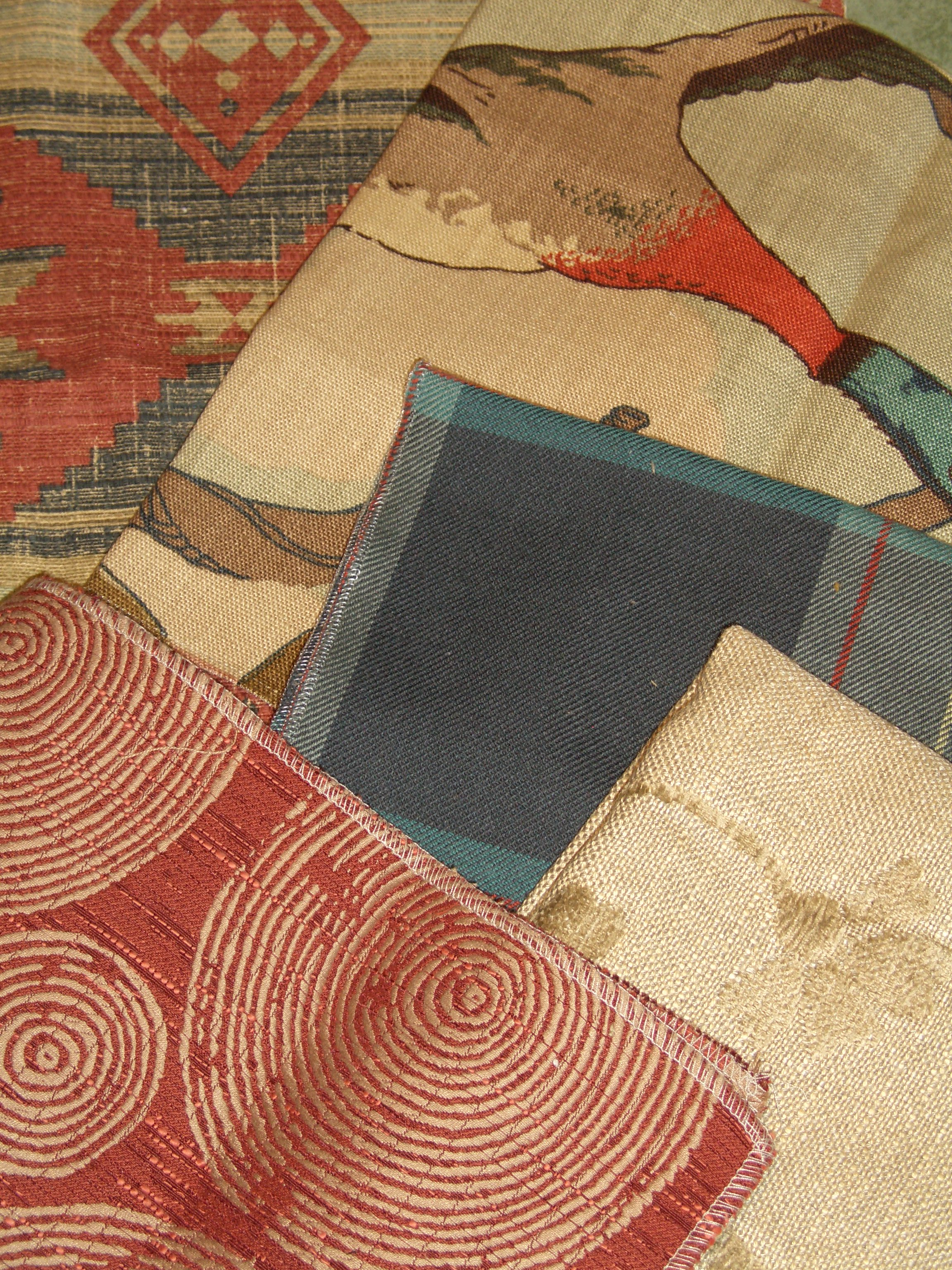 Rustic Fabrics Cabins Lodges Rustic Upholstery Curtains