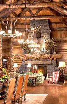 Rustic Fireplace Accessories And Andirons For Cabins