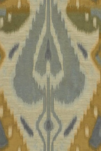Ikat Chic Fabric in Quarry