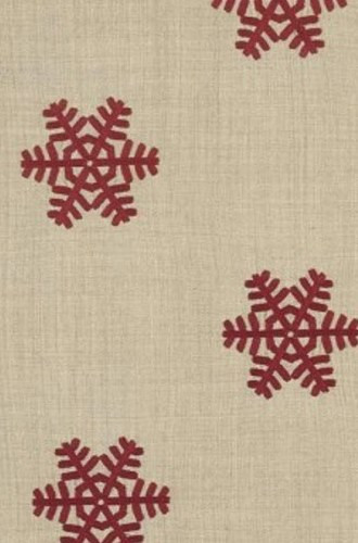 Rondoy Fabric in Red (Casamance)