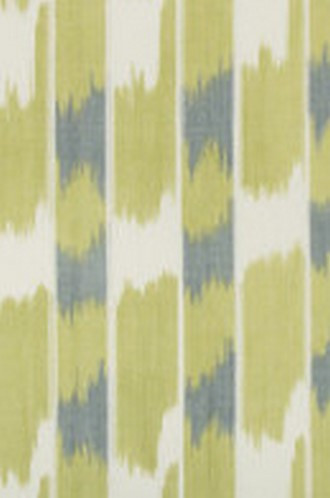 Ikat Basics Fabric in Lime