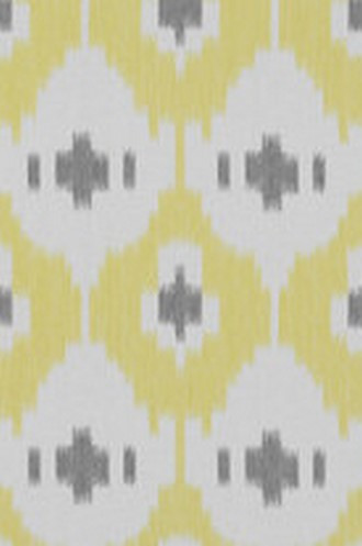 Panarea Fabric in Amarillo/Gris (Double-Width)