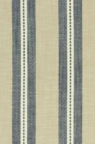 Timo Fabric in Denim & Charcoal & Linen