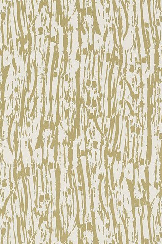 Tree Texture Wallpaper in Pale Gold (Double Roll)