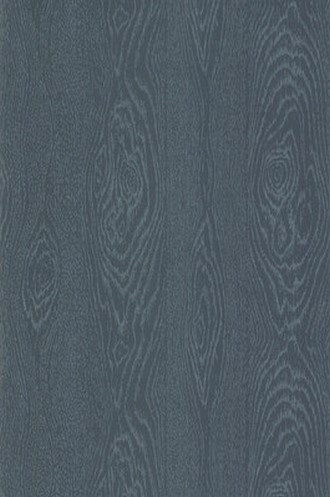 Wood Grain in Inky Blue