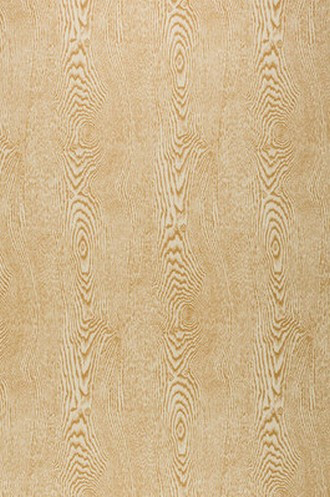 Wood Wallpaper in Tan