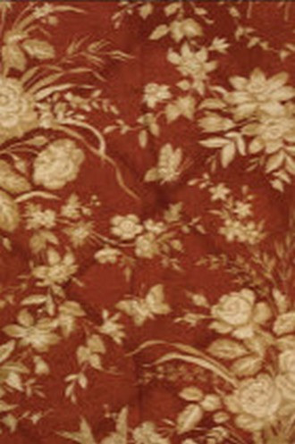 Eliza Floral in Sunbaked Red