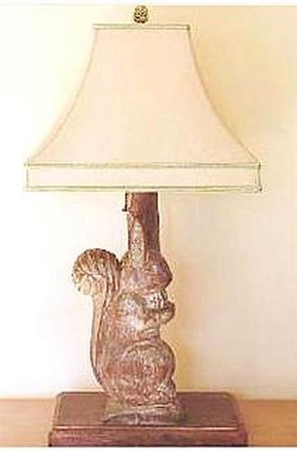Cotati Carved Lamps (Squirrel, Quail, Bunny or Bear) Small