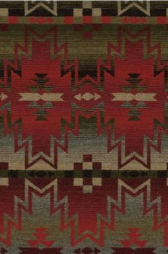 Tribal Fair Fabric in Mountain