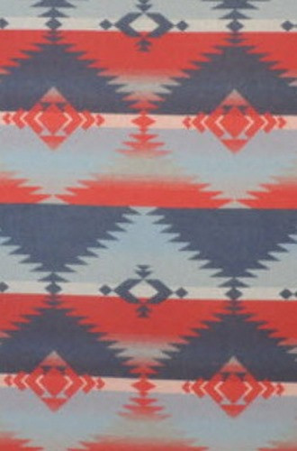 Red Rock Blanket Fabric in old Glory