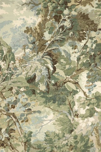 Rutland Wallpaper in Sage and Teal