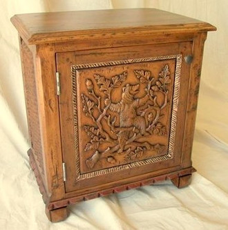 Ty Loyola Dancing Bear End Table (Or Night Stand)