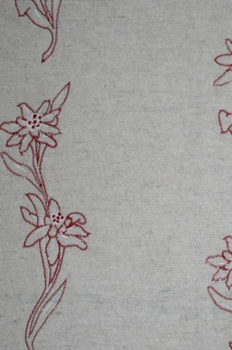 Old World Weavers Blandine Fabric in Naturel
